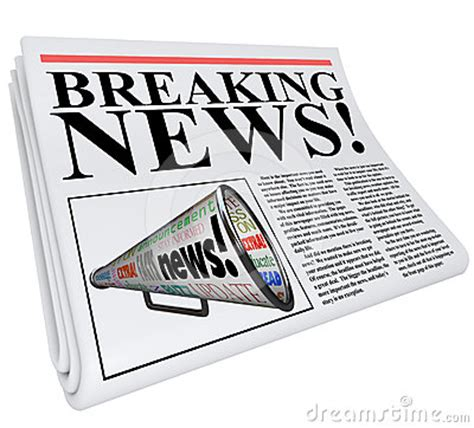 breaking news newspaper front page announcement royalty
