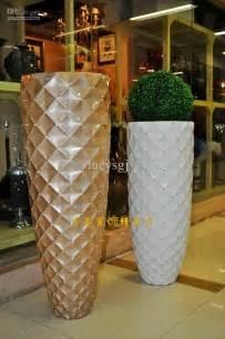 Cylinder Vases For Cheap 92 Mesh Diamond Modern Fashion White Black Flower Large