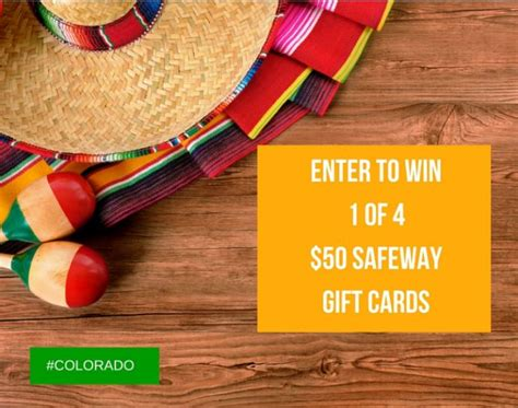 Gift Card Contest - april gift card contest image super safeway