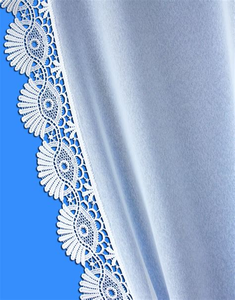 Macrame Lace Curtains Sheer Macrame Lace Curtain Quot Coquilles Quot