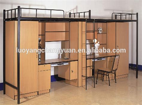 student bunk bed with desk design student metal bunk bed with desk