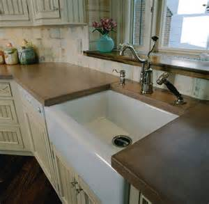 Recycled Glass Backsplashes For Kitchens Concrete Counter Counter Tops And Farmhouse Style On