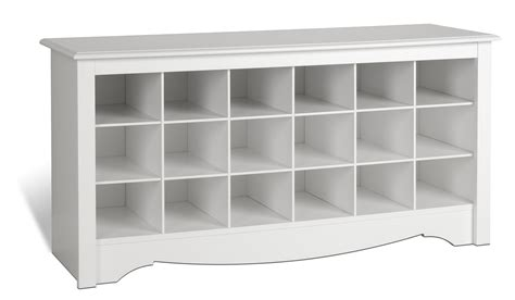 cubby shoe storage prepac sonoma white shoe storage cubbie bench beyond stores