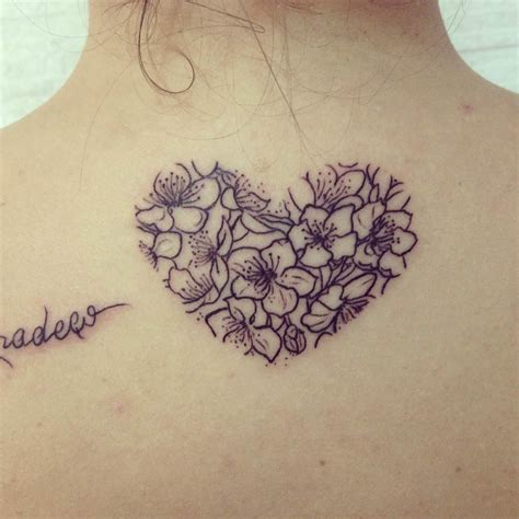 flower heart tattoos 31 black designs design trends