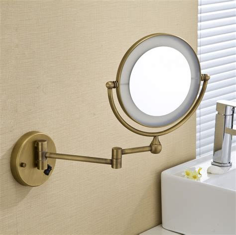 wholesale lighted makeup mirrors buy wholesale bronze lighted makeup mirror from