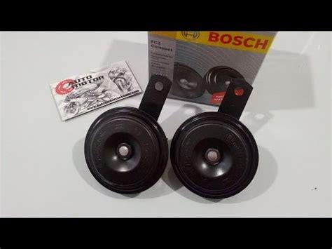 Bosch Klakson Horn hella compact horn test doovi
