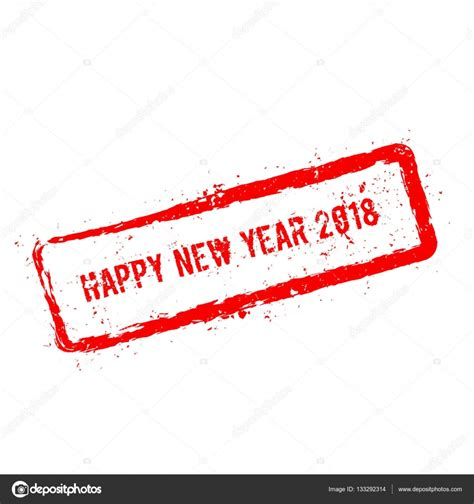 new year 2018 raleigh nc happy new year 2018 rot stempel isoliert auf wei 223 em