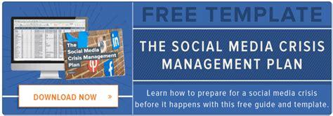 hubspot social media template free template social media crisis plan