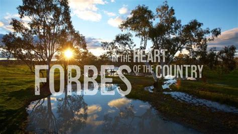 welcome to forbes forbes shire council