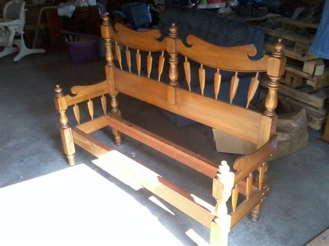 bed frame bench 17 best images about bed frames to benches on pinterest