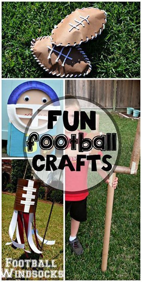 football craft projects 21 best preschool sports exercise theme images on