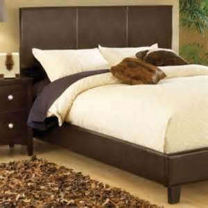 fingerhut mcleland design platform bed brown