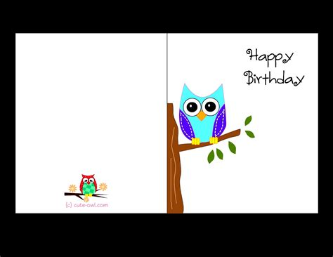 template for cards to print free birthday card template cyberuse