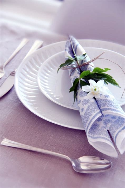 Paper Serviettes Folding - paper napkin folding create festive