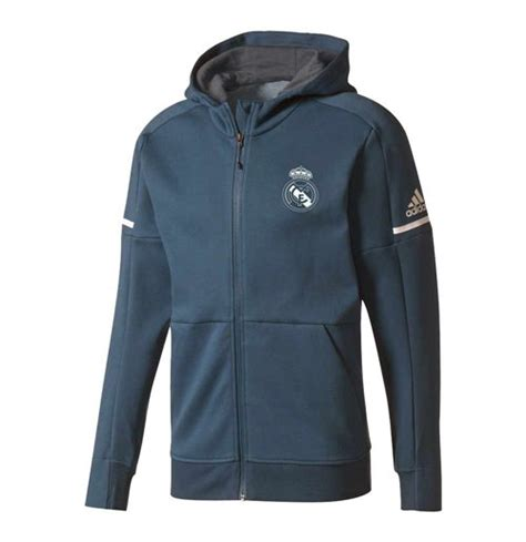 Parka Bola Real Madrid Army 2017 2018 real madrid adidas anthem jacket petrol for only 163 77 27 at merchandisingplaza uk