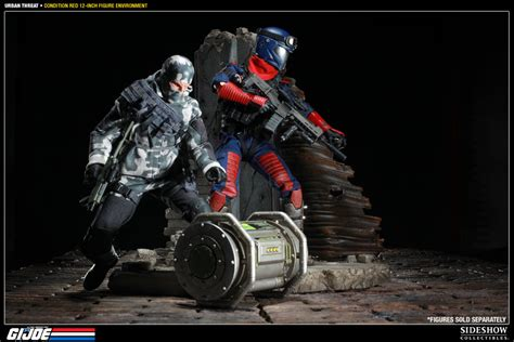 condition red g i joe urban threat condition red sixth scale figure