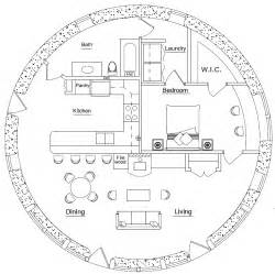 round homes floor plans round earthbag house plans page 5