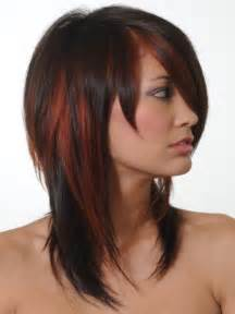 colored highlights 50 hairstyles featuring brown hair with highlights