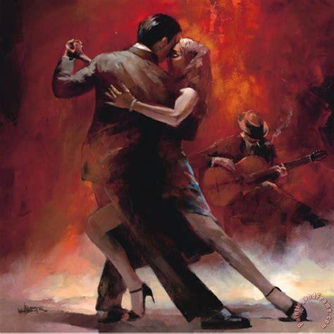 willem haenraets tango argentino ii painting tango