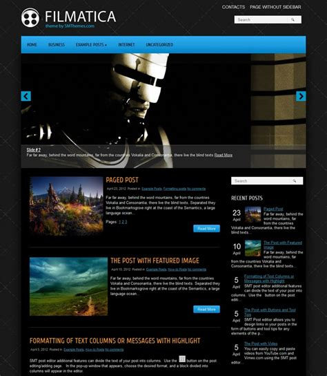 black themes wordpress free 35 excellent dark wordpress themes want your website to