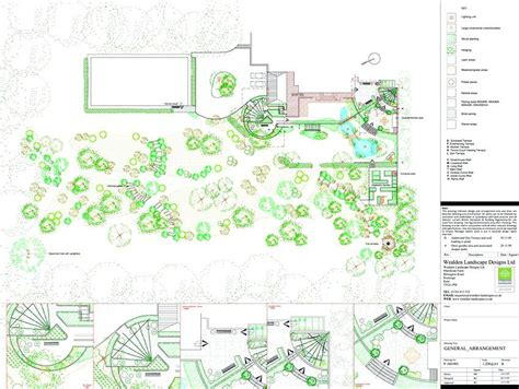 Landscape Design Drawing Templates 4 By Studio Landscape Architecture A Landscape Architecture Garden Design Drawing Templates