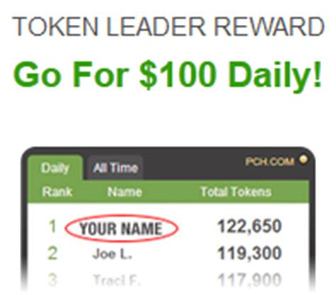 Pch Daily Token Leaderboard - introducing the all new pchrewards loyalty program pch blog