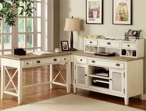 white and wood desk furniture white desk with drawers and shelves for house