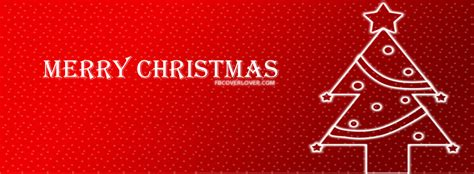 merry christmas neon tree facebook cover fbcoverlovercom