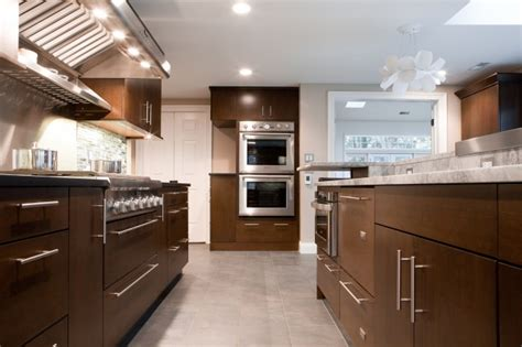 brown and white kitchen cabinets chocolate brown cabinets contemporary kitchen aidan