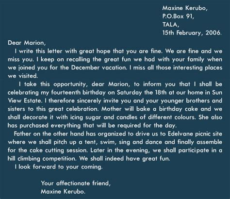 Best Introduction For Friendly Letter an exle of a introduction of a friendly letter gallery