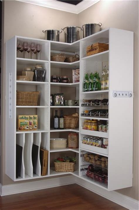 open shelf pantry storage sanctuary