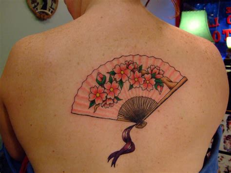 geisha fan tattoo designs feminine tattoo images designs