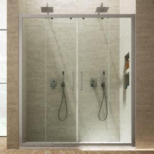 profili in alluminio per box doccia nicchia scorrevole 150 cm porta per box doccia con profili