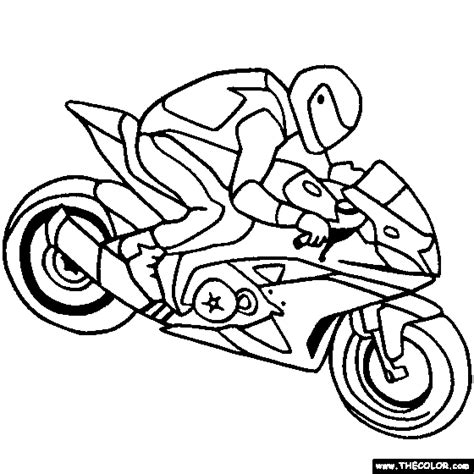 motorcycle coloring pages online free coloring pages of car and motorcycle