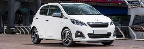 list of peugeot cars list of the smallest cars you can buy carwow
