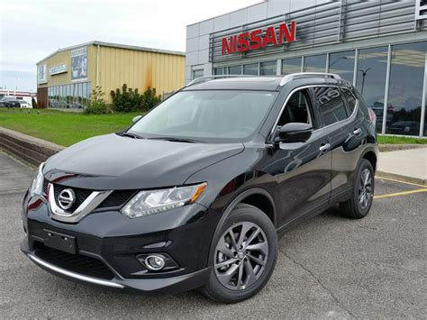 black nissan rogue 2016 2016 nissan rogue sl black experience nissan car