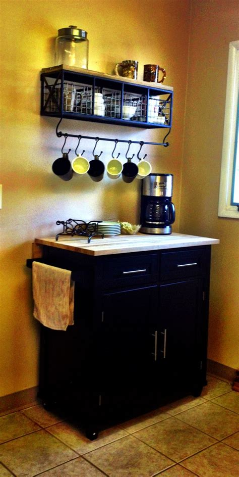 Kitchen Cart Coffee Station Pin By Deherdt On For The Home