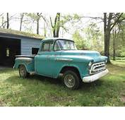 57 Chevy Apache 3100 Hotrod Patina Truck For Sale
