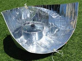 how does solar cooking work
