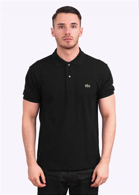 Sleeve Logo Polo Shirt lacoste sleeve logo polo shirt black