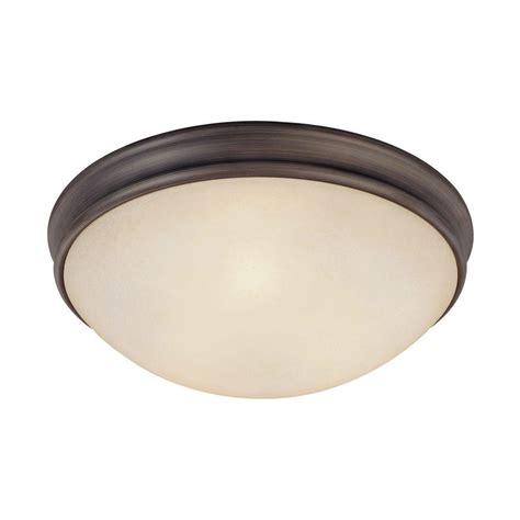 oil rubbed bronze flush mount ceiling light filament design johnson 3 light oil rubbed bronze