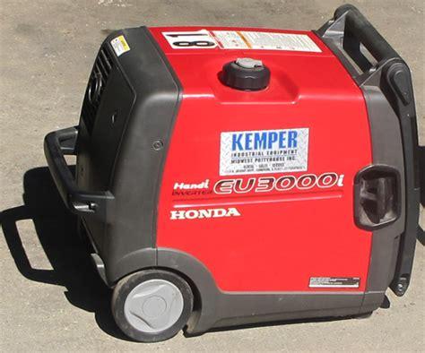 honda power generator kemper