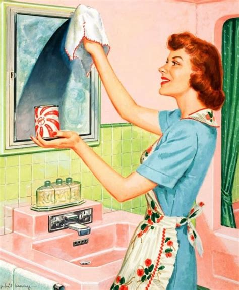 50s housewife in the 1950s wives were expected to do this for their
