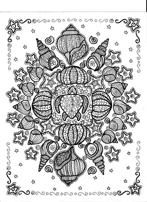 turtle mandala coloring pages mandala turtle coloring pages