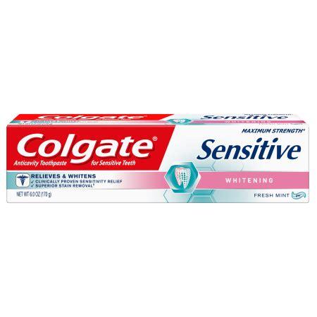 colgate sensitive whitening toothpaste chemist direct colgate sensitive maximum strength whitening toothpaste 6
