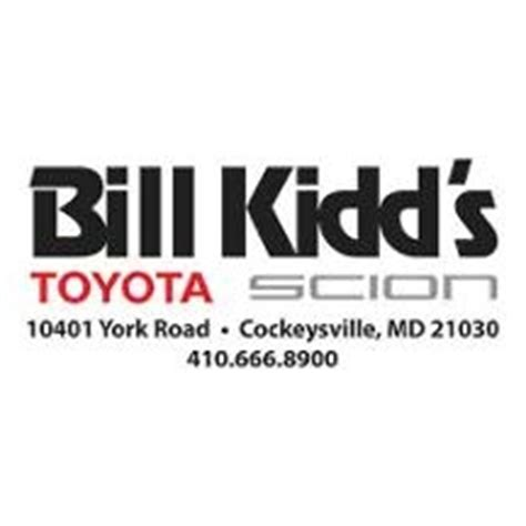 Bill Kidds Toyota Bill Kidd S Timonium Toyota In Cockeysville Md 21030
