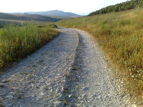 ancient greek roads roman roads