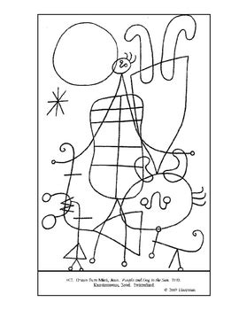 coloring book miro colouring 3791370391 printable coloring page miro art pintor colorear y pl 225 stica