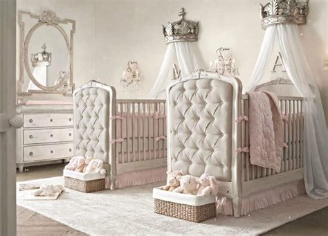 Beds With Canopy beautiful twin nursery baby twin nursery decorating