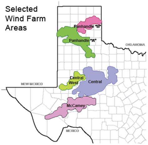 texas wind farm map renewable energy new power lines will make texas the world s 5th largest wind power producer